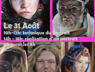 Stage: Les secrets du portrait