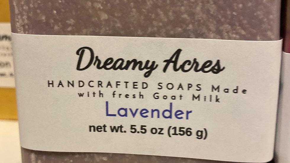 Lavender Scented Goat Milk Soap
