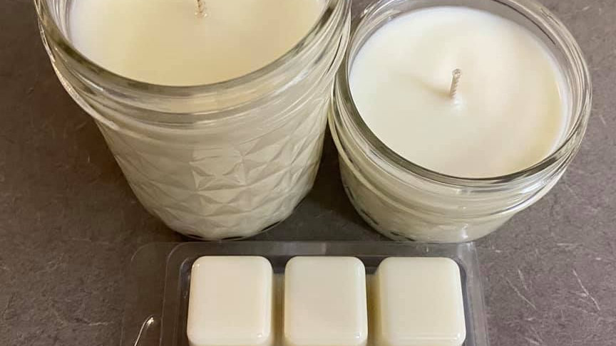 6 oz Citronella scented soy candle