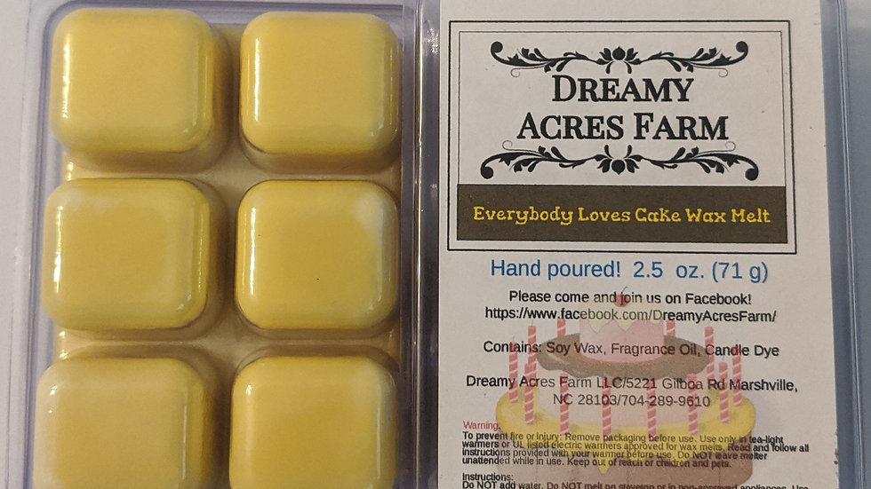 Vanilla Cream Wax Melt