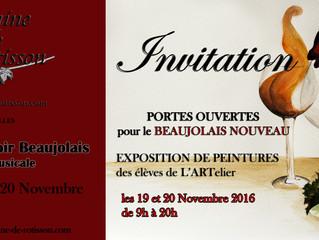 Expo des élèves Nov 2016