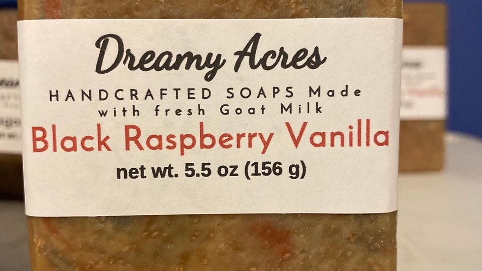 Black Raspberry Vanilla Goat Milk Soap