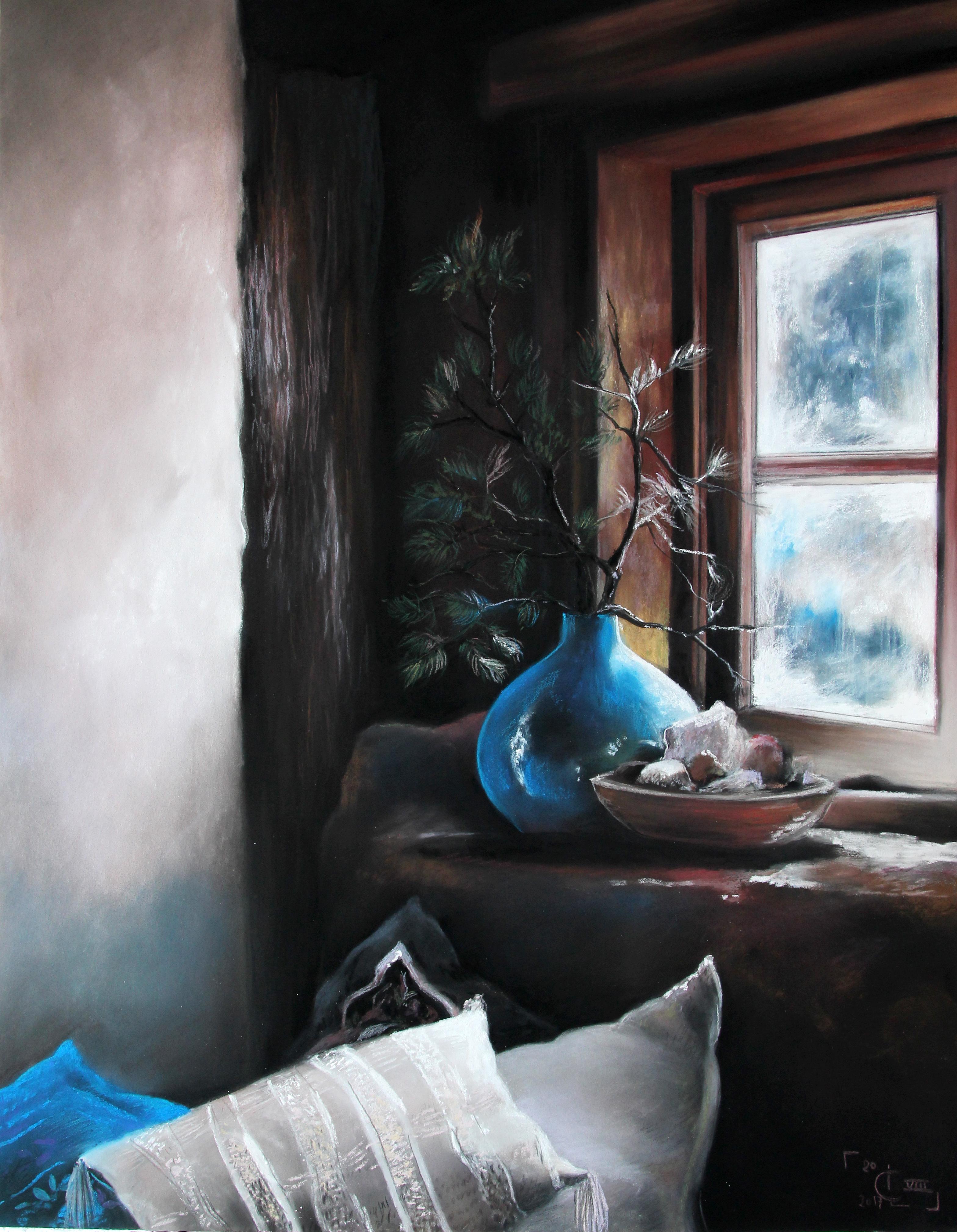 Le vase bleu
