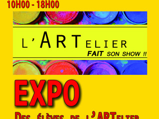 EXPO des élèves de l'ARTelier 2016