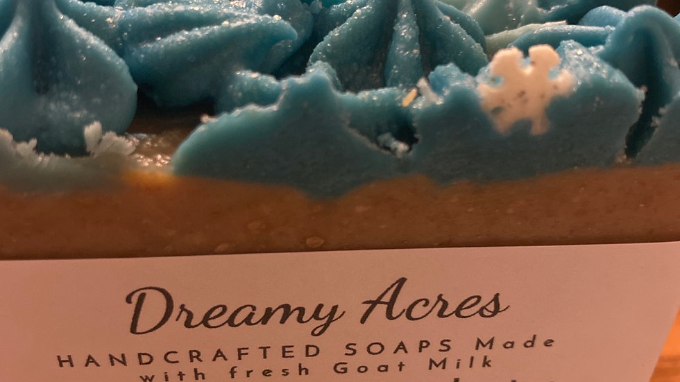 Peppermint and Eucalyptus Scented Goat Milk Soap