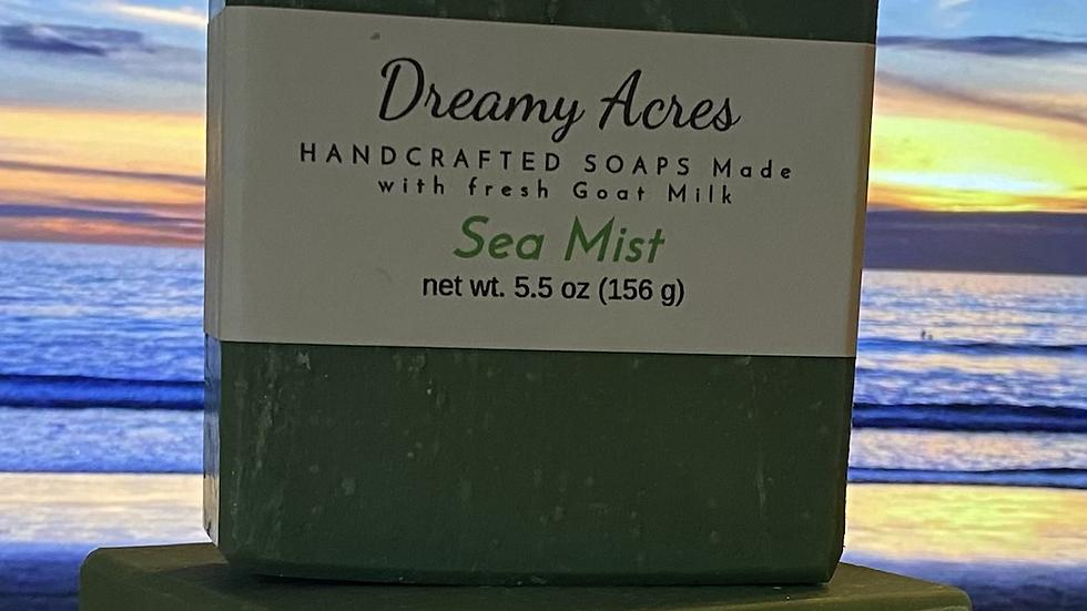 Sea Mist Scented Goat Milk Soap
