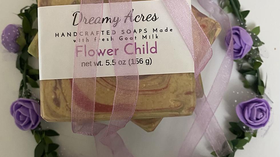 Flower Child Scented Goat Milk Soap