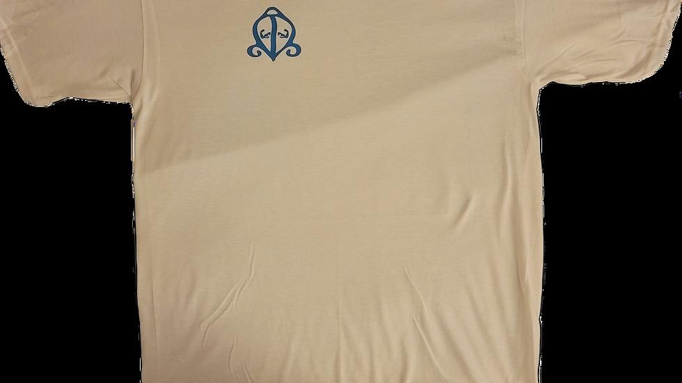 White/Blue Performance T-Shirt