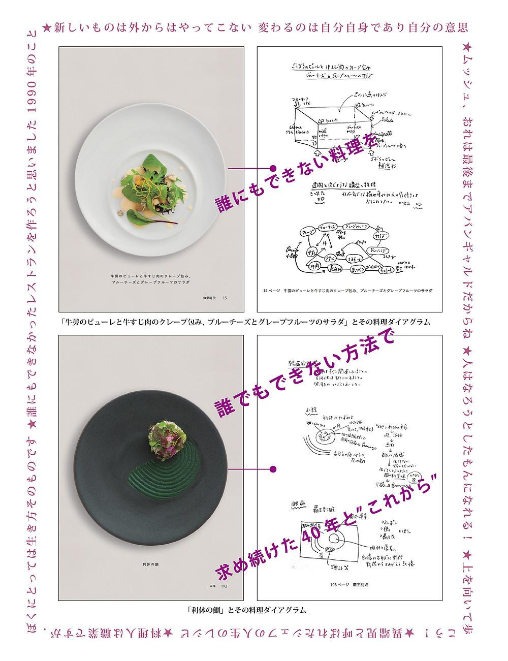 料理人という生き方 ダイアグラム