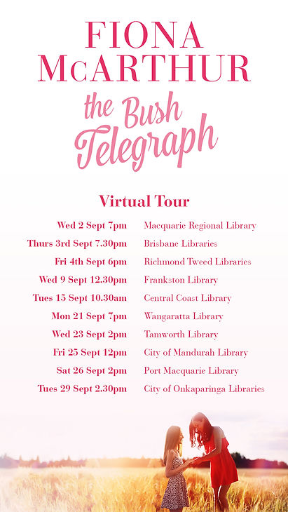The Bush Telegraph Virtual Author Tour.j