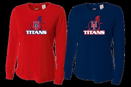 Ladies L/S Dry Fit Shirt - Holy Trinity