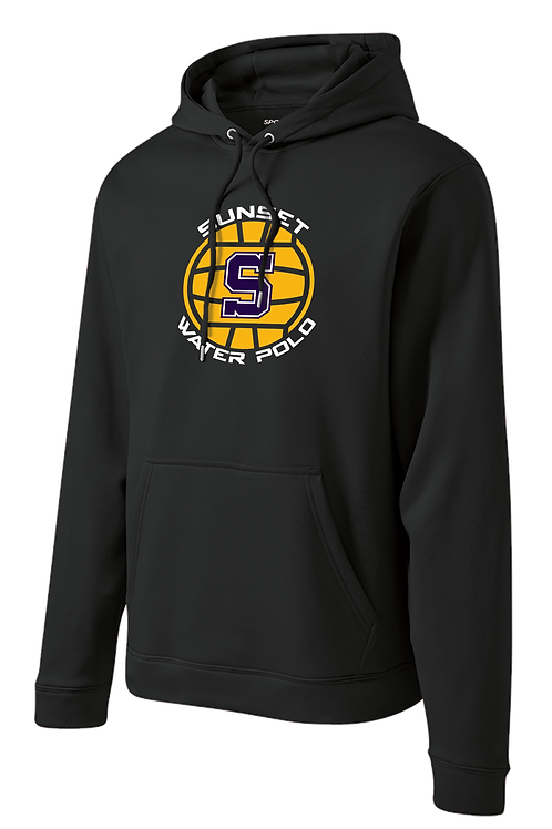 Dry Fit Hoodie - Sunset Water Polo