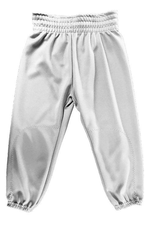Drawstring T-Ball Pants-Grey