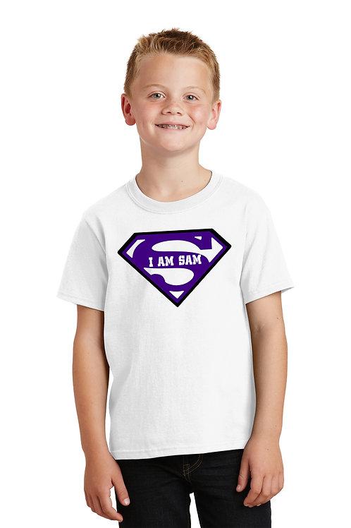 Kids Superman/Sams Army -White
