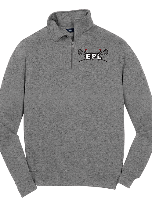 Men's 1/4-Zip Sweatshirt - EPL Lacrosse