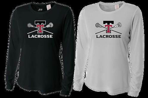 Ladies L/S Dry Fit Shirt - Tualatin Lacrosse