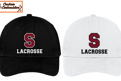 Unstructured Low Profile Hat - Sherwood Lax