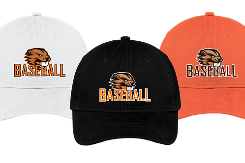 Unstructured Low Profile Hat - Beaverton Baseball