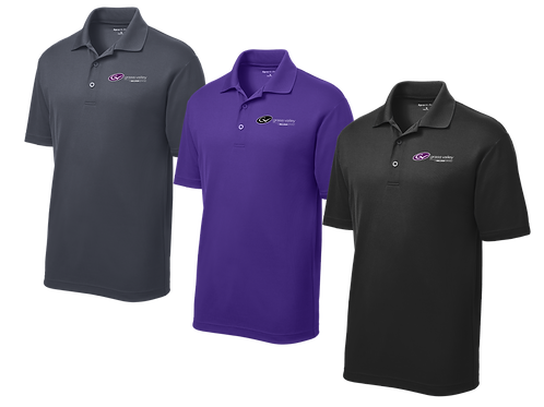 Men's Dry Fit Polo - Grass Valley