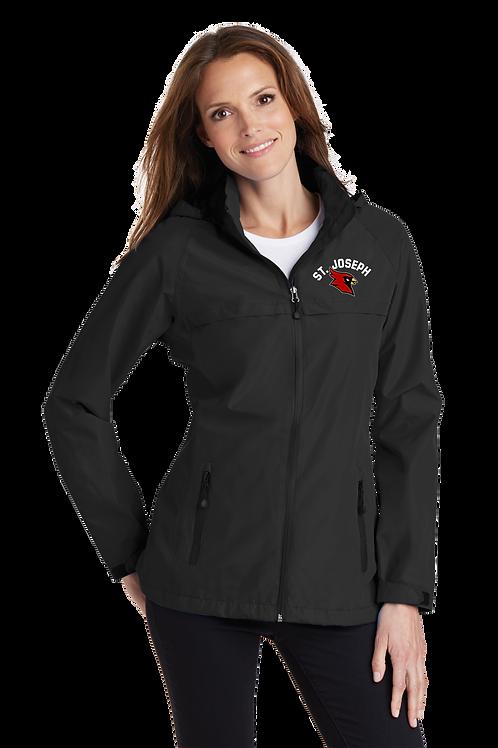 Ladies Waterproof Jacket with Hood - St. Joseph