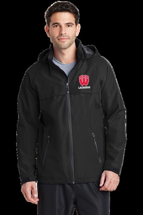 Men's Waterproof Jacket with Hood - Westview Lacrosse