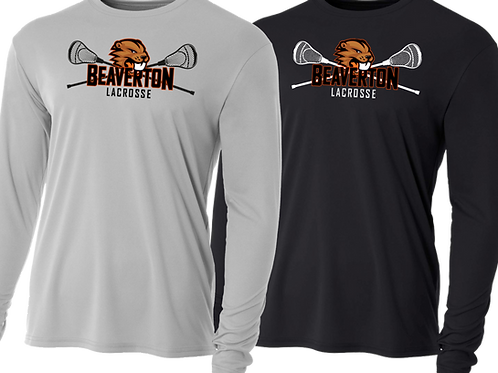 Youth/Men's L/S Dry Fit Shirt - Beaverton Lacrosse