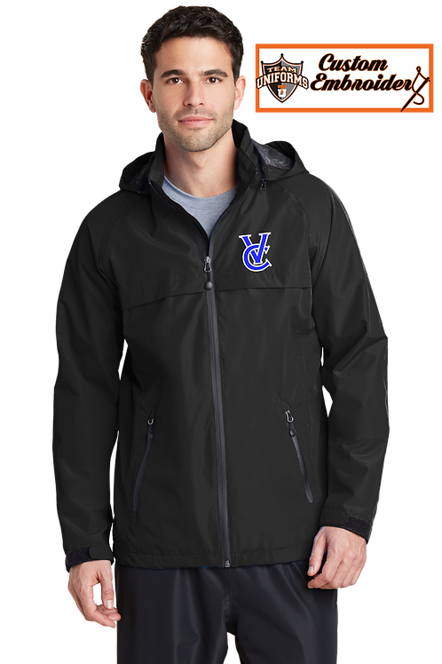 Men's Waterproof Jacket with Hood - VC