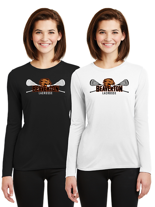 Ladies L/S Dry Fit Shirt - Beaverton Lacrosse