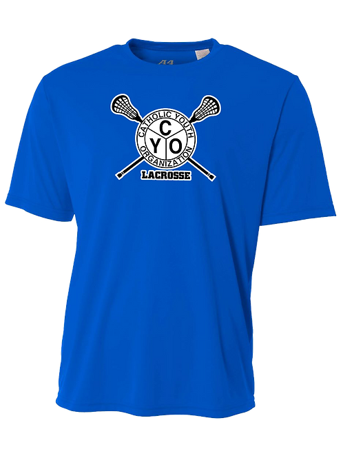 Youth/Men's S/S Dry Fit Shirt - CYO Lacrosse