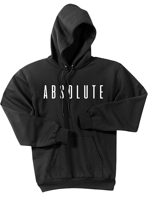 Black Cotton Hoodie - ABSOLUTE