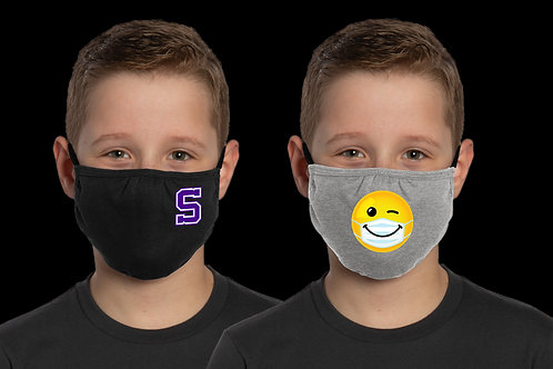 Youth Face Mask - With Logo