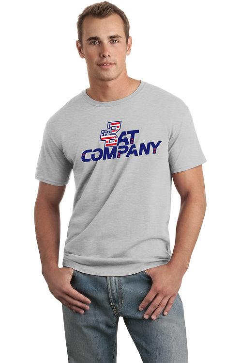 Bat Company Cotton Tee-Grey