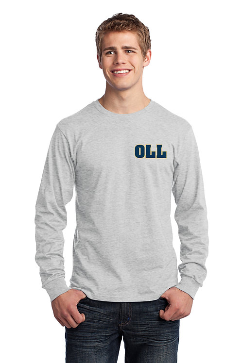 Men's OLL L/S Cotton Tee - Grey