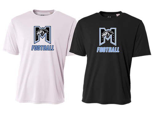 "Men's/Youth Dry Fit Shirt - ""M"" Football"