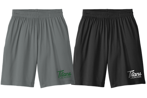 Dry Fit Shorts with Pockets - Titans Lacrosse