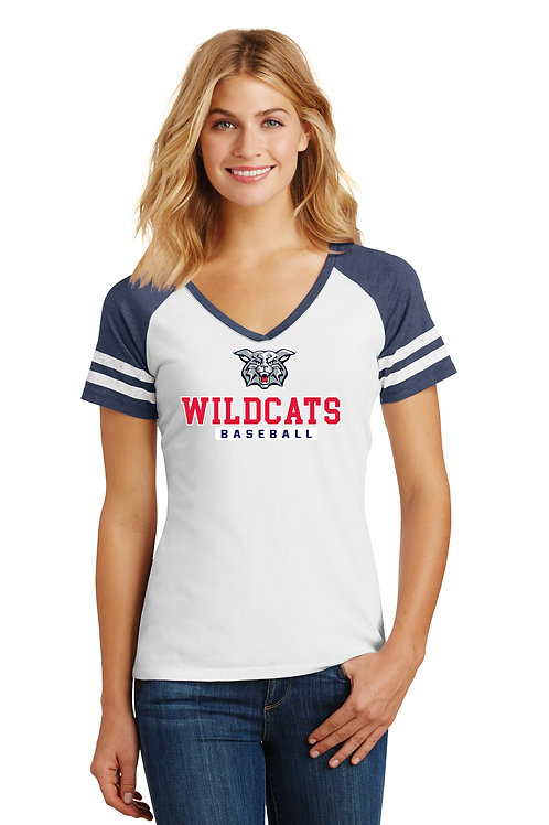 Wildcats Logo on Front of shirt