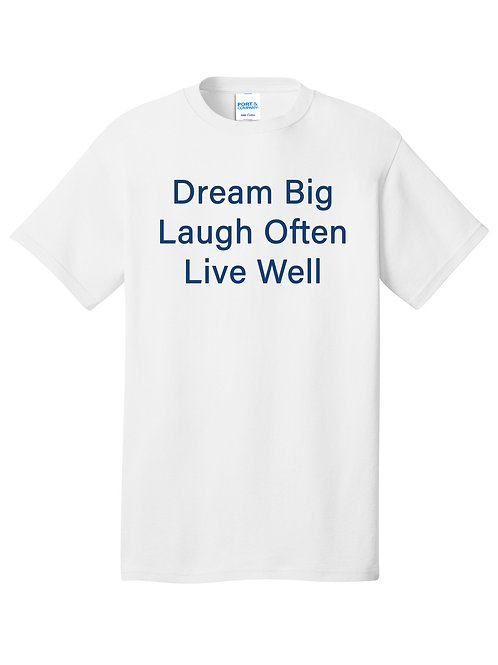 100% Cotton Tee - SDF Live Well