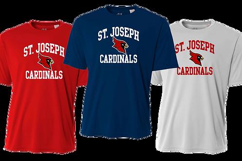 Dry Fit Shirt - St. Joseph Cardinal Sport Logo
