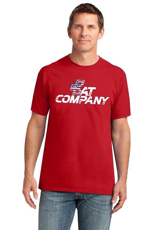 Bat Company Dry Fit Shirt-Red