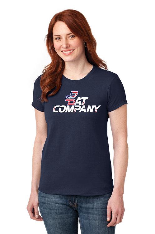 Ladies Bat Company Dry Fit Shirt-Navy
