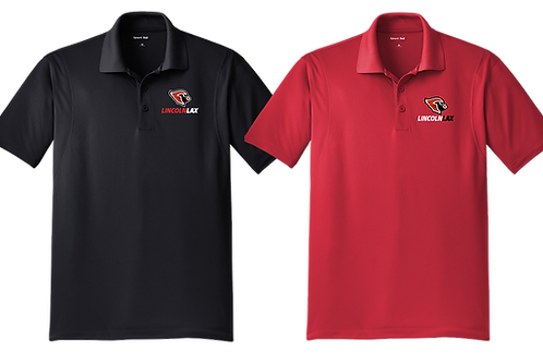Dry Fit Polo Shirt - Cardinal Lacrosse