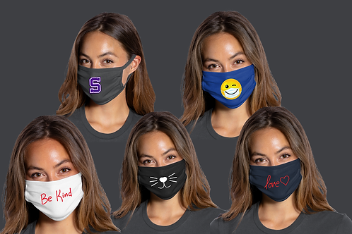 Adult Face Mask - With Logo