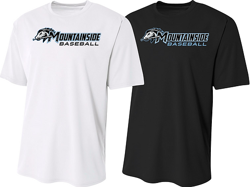 Men's/Youth Dry Fit Tee - Mountainside Baseball