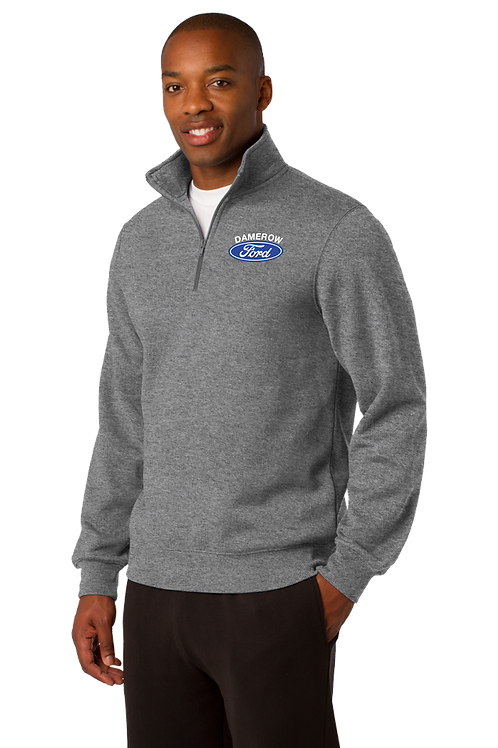 Men's 1/4-Zip Sweatshirt - Damerow Ford