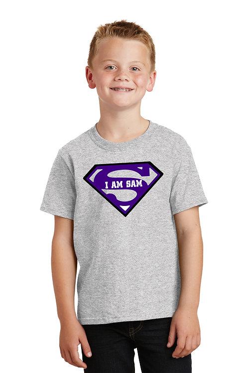 Superman I am Sam - Grey