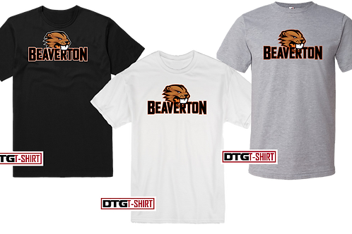 Men's/Youth 100% Cotton Tee - Beaverton