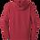 Thumbnail: Dry Fit Hoodie - Cardinal Lacrosse