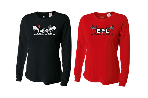 Ladies L/S Dry Fit Shirt - EPL Lacrosse