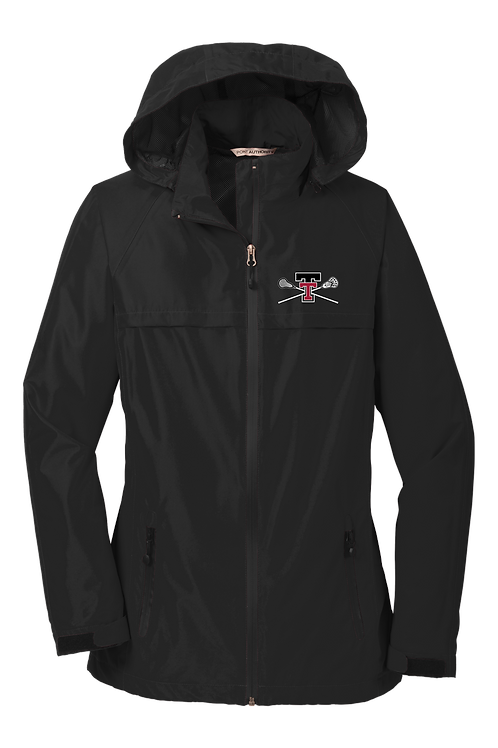 Ladies Waterproof Rain Jacket - Tualatin Lacrosse