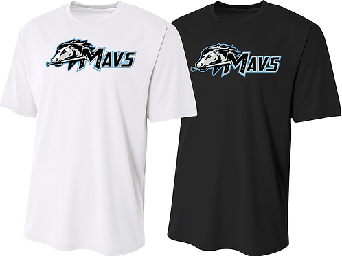 Men's/Youth Dry Fit Tee - Mavs Baseball